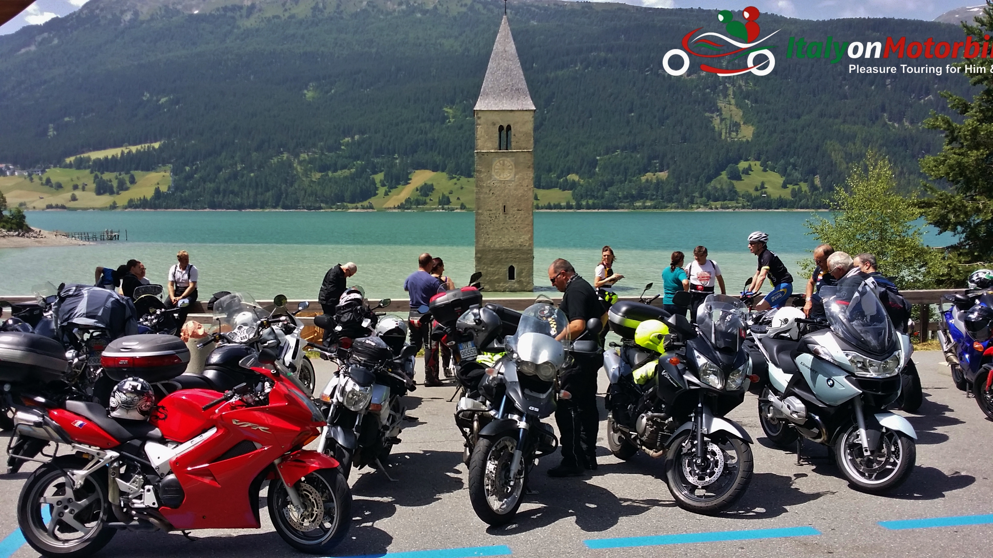 motorcycle tour Dolomites Alps Italy