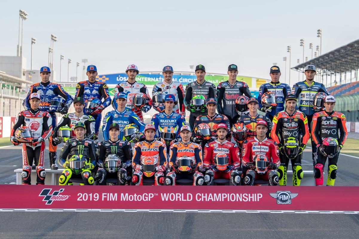 The 2019 rider lineup