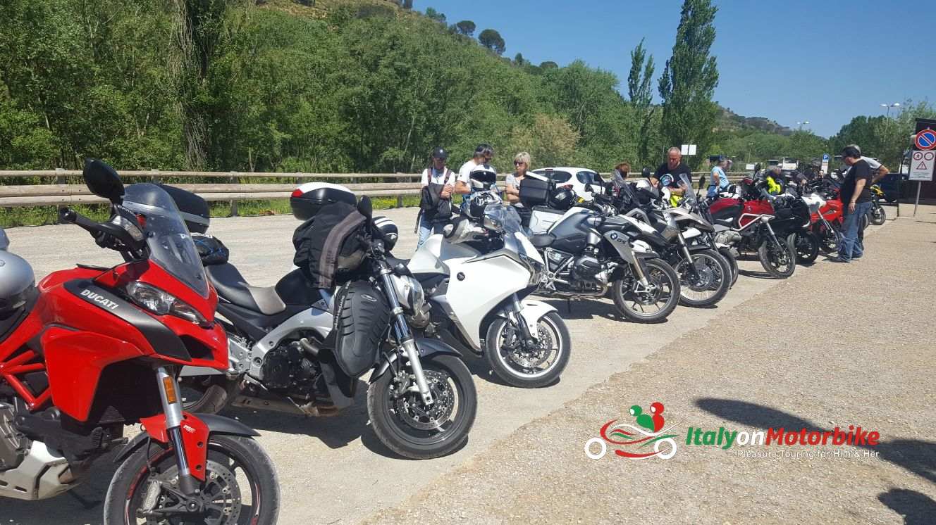 Range of rental motorcycles with Italy on Motorbike