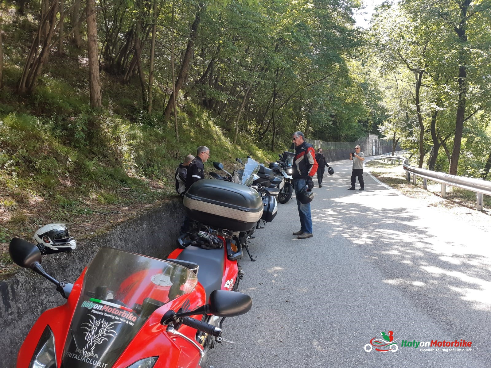 motorcycle touring in Italy