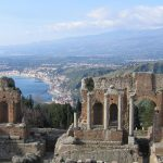 amalfi coast and sicily motorcycle tour Taormina